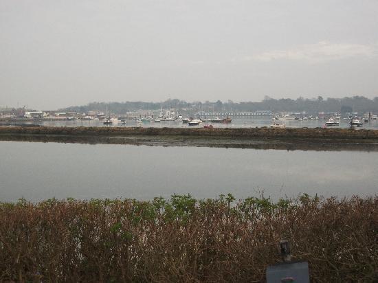 St Helens, UK: Over Looking Bay from van