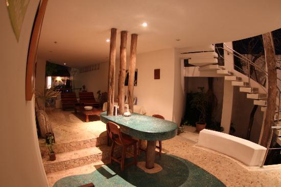 Mi Casa en Cozumel: common area