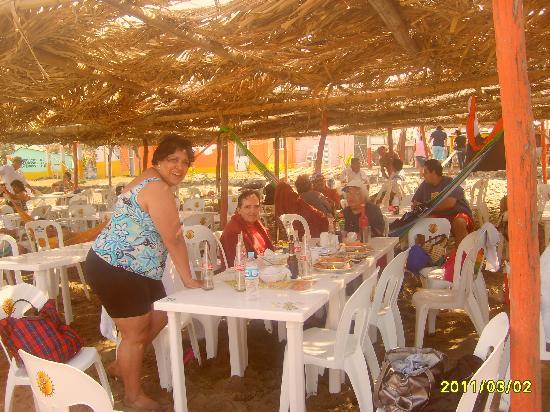 Catemaco, Mexico: palapas para disfrutar, descansa y comer