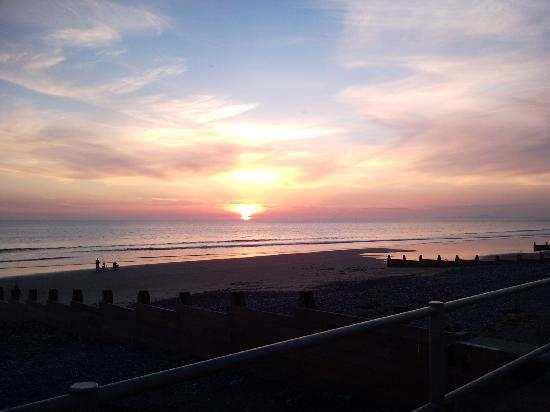 Tywyn, UK: Sunset