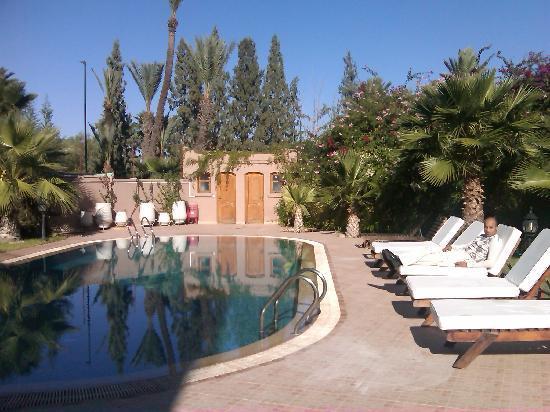 Dar Selwan Wellness & Spa : Photo on swiming pool