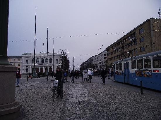Gothenburg, İsveç: city centre