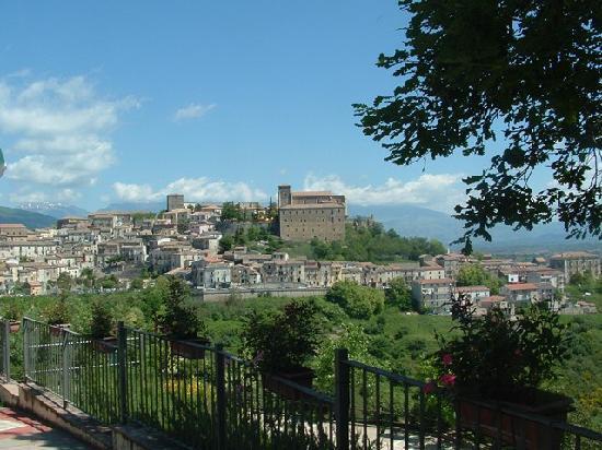 Il Centro di Altomonte visto dall'Hotel Barbieri
