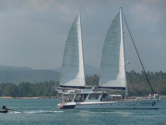 Rawai, Tailandia: Catamaran