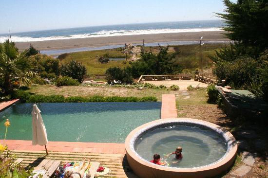 Buchupureo, Chile: Vista desde la terraza