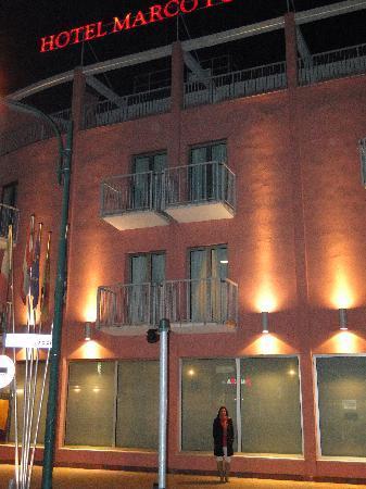 Hotel Marco Polo: Entrada