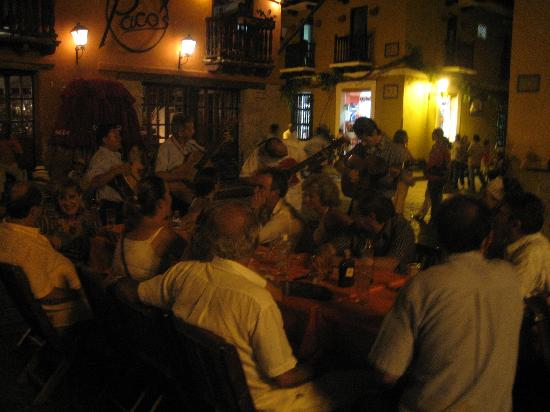 Restaurante Paco's: Musiker