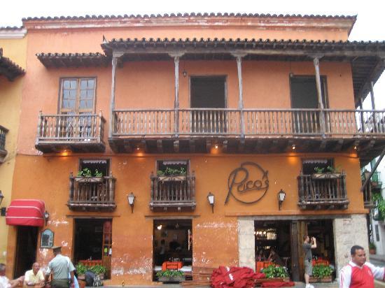 Restaurante Paco's: Außenansicht