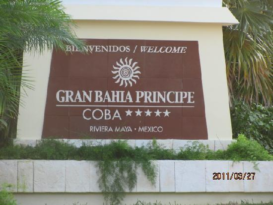Grand Bahia Principe Coba : coba beach is the better one tulum and akumul are very rocky very hard on the feet