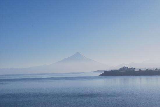 Hotel Cumbres Puerto Varas: View from our window