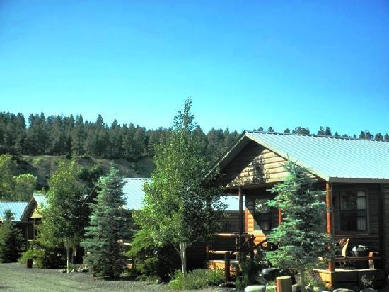 Fireside Inn & Cabins: 1Brm Cabin Row