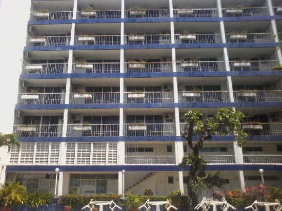 Auto Hotel Ritz Acapulco: Balcones Auto Hotel Ritz! Edificio Principal.