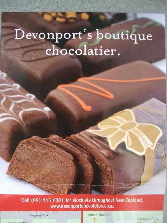Devonport Chocolates: デボンポートチョコレート