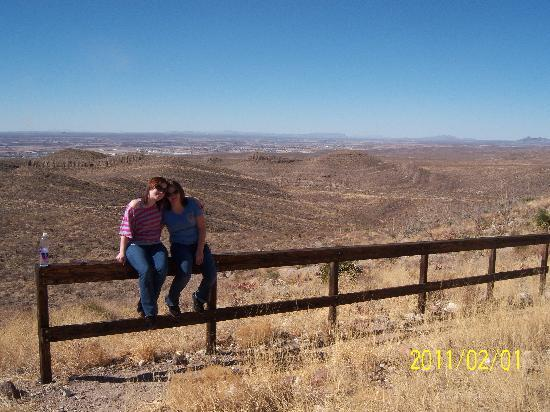 Franklin Mountains State Park: great view