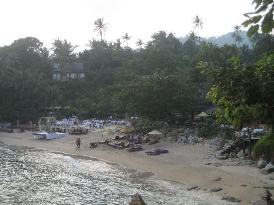 Hochzeitsfeier Am Strand Picture Of Santhiya Koh Phangan Resort