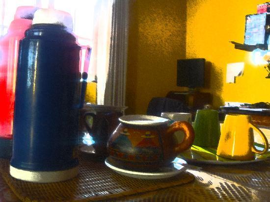 Casa del Mochilero: Café y Té gratis todo el día