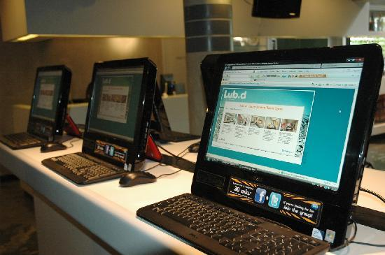 Lub d Bangkok Siam: Free Hi-speed Internet (8 stations) & Free Wi-Fi