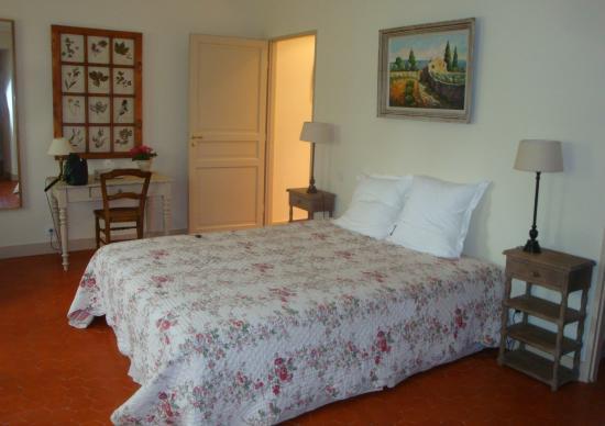 La Laure: Notre chambre si belle !