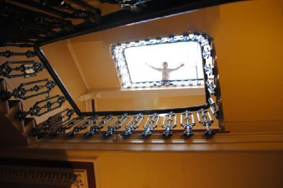 Haymarket Hotel: The stairwell