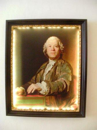 Mozarthaus Vienna : ハウスの中に飾られていた肖像画です