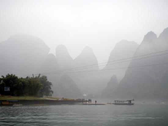 Guilin, Chiny: Misty River Li cruise