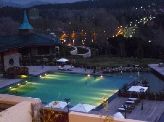 Michlifen Ifrane Suites & Spa: Night view
