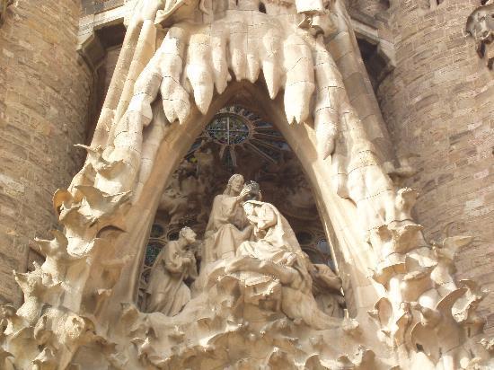 Sagrada familia: facciata
