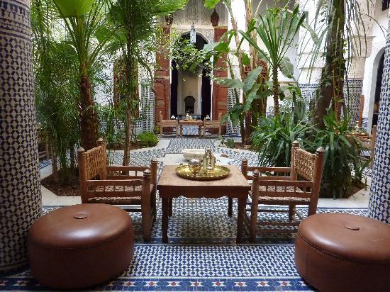 Riad Les Oudayas : le patio
