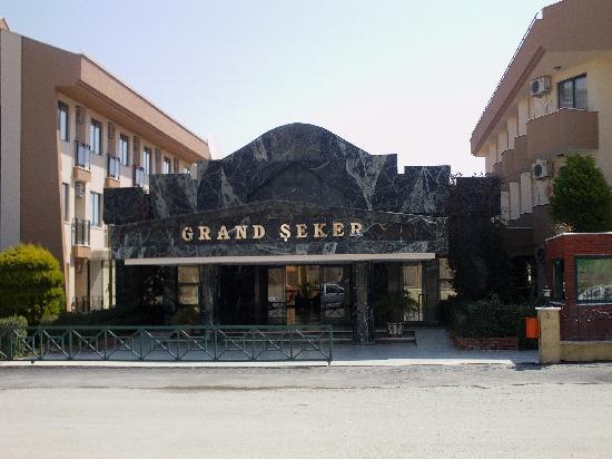 Grand Seker : Eingangsbereich