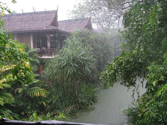 Somkiet Buri Resort: View from the balcony