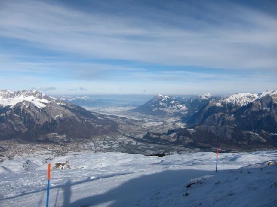 Pizol Ski Resort: 圧巻の景色!!