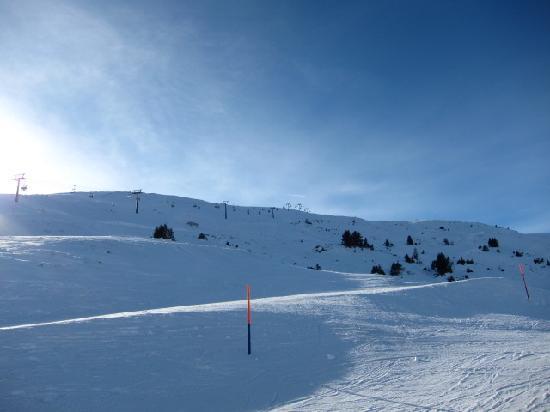Pizol Ski Resort: 結構小さいか?と思っていたが、意外にデカイ