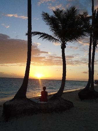Iberostar Grand Hotel Bavaro: watching the sunrise