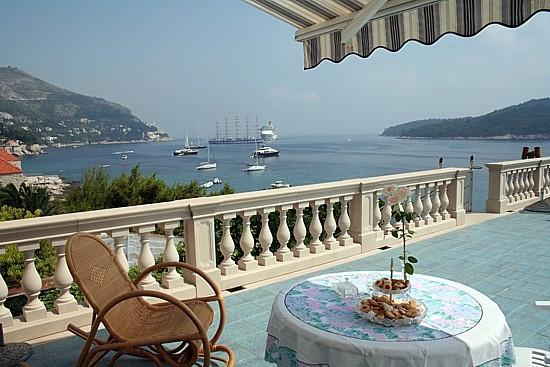 Villa Adriatica: View from the terrace