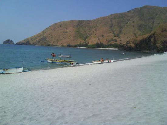 Anawangin Cove: arrival...the Cove