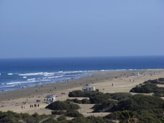 Playa del Inglés, Espagne : playa del Ingles