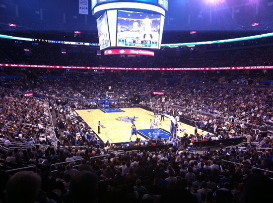 View of Basketball Court in Amway Center