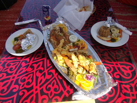 Ali Baba Restaurant : Market fish of the day