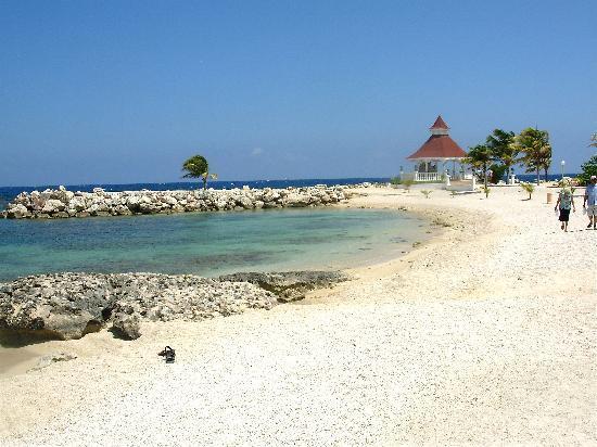 beach near wedding pavillion