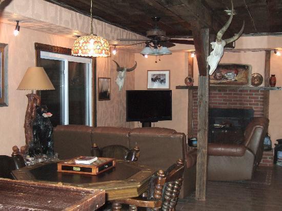 Southern Cross Ranch: Media Room
