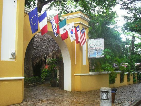 Hotel Chablis Palenque: entrada