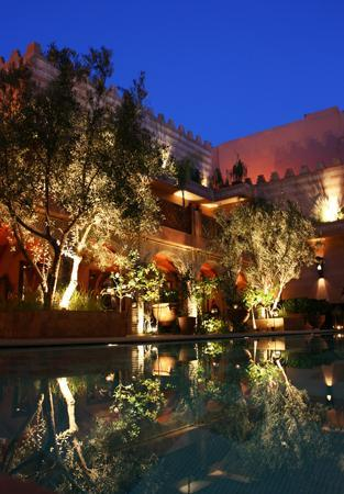 La Maison Arabe : Patio of the hotel