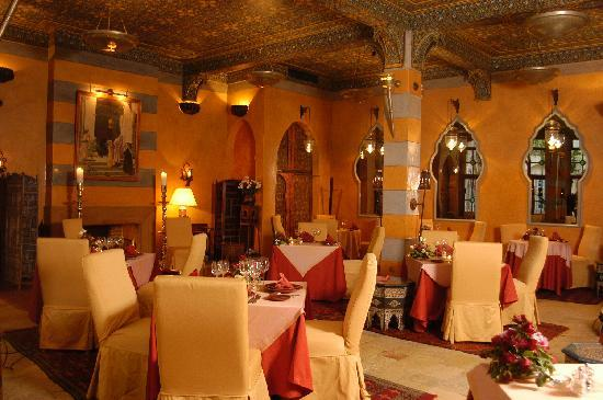 Moroccan restaurant picture of la maison arabe for Architecture maison arabe
