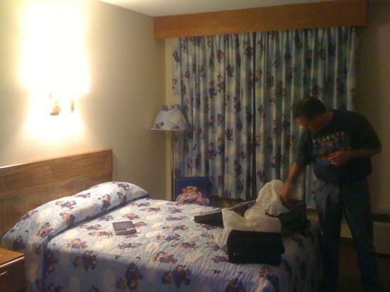 Travelodge Perry GA: The Sleepy Bear room! An adorable surprise for kids...