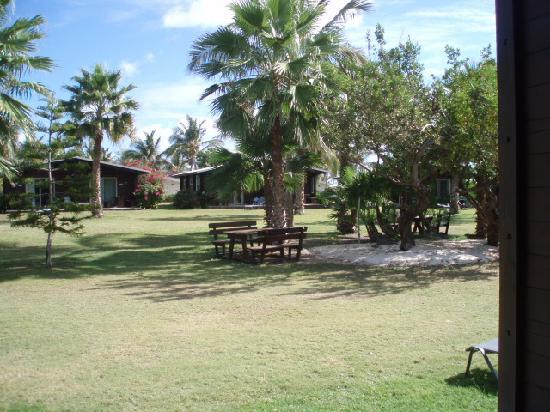 Club Orient Resort: Each unit is a small duplex with front and back patio