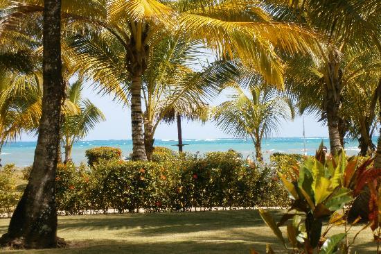 Grand Bahia Principe San Juan: A view from our room.