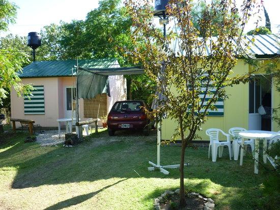 Cabanas Dos Lunas: las cabañas