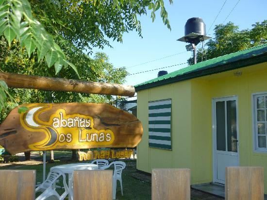 Cabanas Dos Lunas: Entrada