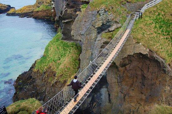 Belfast Attractions Carrick A Rede Rope Bridge Antrim Northern Ireland