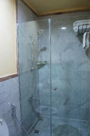 Shahrayar Luxury Hotel: nice shower